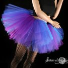 Butterfly tutu extra puffy purple and blue adult Large