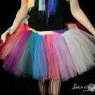 Lighter random Rainbow extra poofy tutu skirt Adult Small
