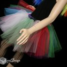 Lighter random Rainbow extra poofy tutu skirt Adult Large