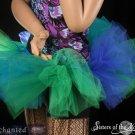 Mermaid Bubble tutu skirt Adult  XLarge-Plus