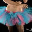 Cotton Candy Peek a boo mini tutu skirt Adult medium