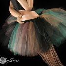 Camouflage Army camo Monster dance tutu Adult petticoat Small