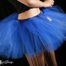 Royal Blue extra poofy adult tutu petticoat Large