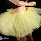 sunshine yellow extra poofy adult tutu petticoat XLarge-Plus