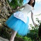 Medium adult tutu skirt turquoise Ultra Ring Master huge poofy