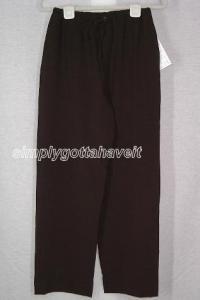 Dialogue Stretchweave Drawstring Pants Size 6 (Small)
