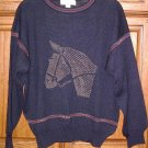 Tricots St Raphael 100% Wool Sweater Large