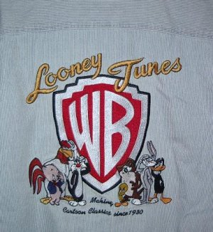 Looney Tunes shirt size Large yellowing so on SALE
