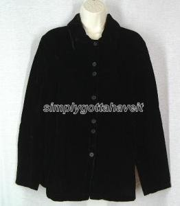 Denim & Co. Rayon Velvet Double Button Big Shirt Small