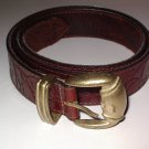 Genuine Leather Belt Women's size Medium Reddish Brown SALE