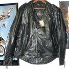 Leather King Biker Jacket