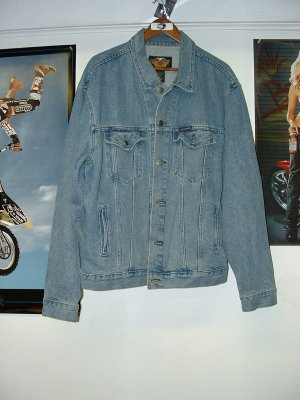 Harley Davidson 100th Anniversary Denim Jacket  **Close Out Price**