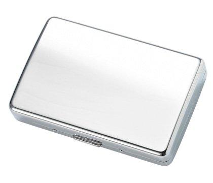 Brand New Sleek and Elegant Silver Metal Wallet