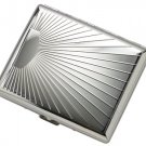 BRAND NEW Silver Sunray Metal Wallet