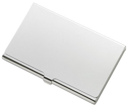 Silver Elegant Business and Credit Card Case Holder BRAND NEW