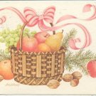 HOLIDAY GREETINGS FRUIT BASKET -C-277