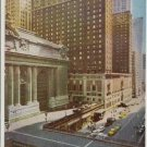 HOTEL COMMODORE, NEW YORK 1950s postcard -C-294