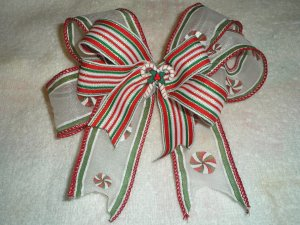 Christmas Candy Boutique Hairbow