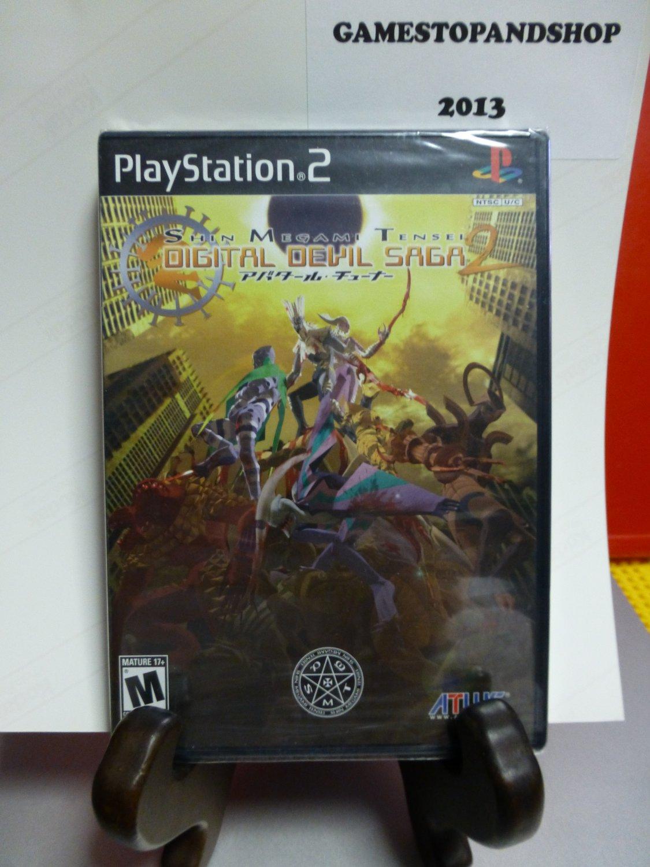 PS2 Playstation 2 Shin Megami Tensei: Digital Devil Saga 2 (NEW) FREE S&H