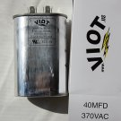 Cap 40 uFD Compressor Furnace Blower Fan Motor Start Run Capacitor Oval 370V UL Listed