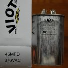 Cap 45 MFD Motor Start Run Capacitor Oval 370V UL Listed