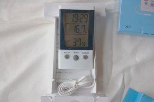 Digital Thermometer Hygrometer Indoor/outdoor Dual Temperature Display