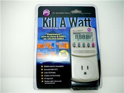 Kill A watt in-line ammeter Amperage Wattage meter Save Power Meter