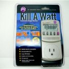 Kill A watt in-line ammeter Amperage Wattage meter Save Power Meter