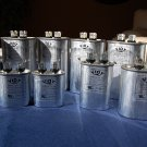 Lot:10-in-a-set Capacitors 5 to 50 uFD Compressor Furnace Blower Fan Motor Start Run HVAC Workshop
