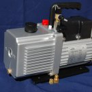 Rotary Vane Vaccum Pump 12CFM 3/4HP Continuous Duty Pulsator HVAC 3 Ports Sizes Industrial Size