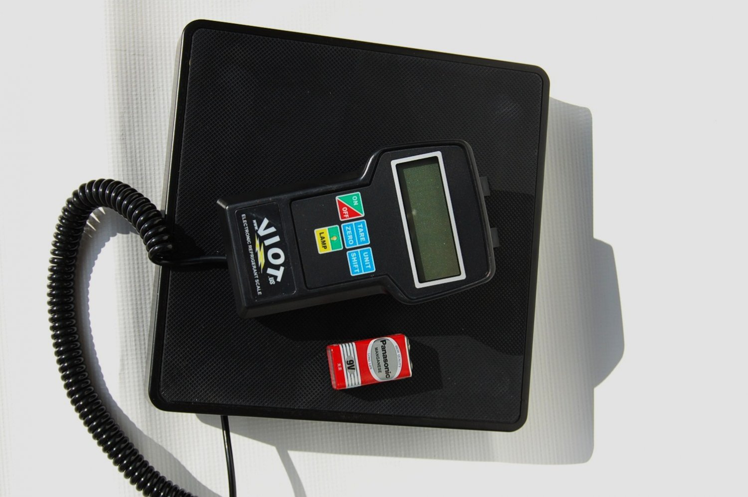 Digital Refrigerant Charging Recovery Weighing Scale HVAC Tool Capacity 0.25oz to 220Lb
