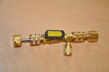 """Newer Model Dual Sizes: 1/4"""" and 5/16"""" Schrader Valve Core Remover Installer Changer"""