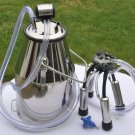 Cow Milker Bucket +lid liner 25 liter Stainless steel Delaval Surge Milk Machine