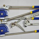 Lot 4 Tube Pipe Level Bender Set:7/8 OD Rust proof finish High quality HVAC Tool