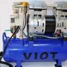 Automatic Vacuum System Twin piston oilfree oilless High Performance Vacuum Pump 5.5 CFM 3/4 HP Tank