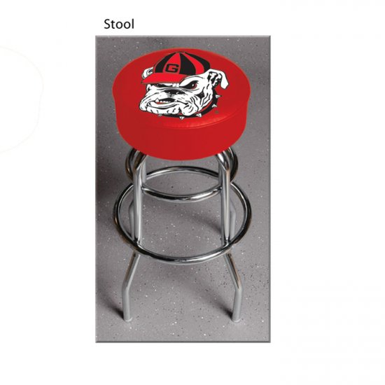 NCAA University of Georgia Bulldogs Bar Stool