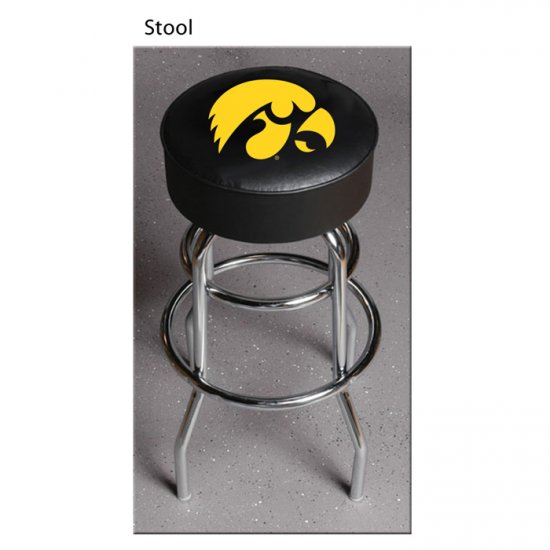 NCAA Iowa Hawkeyes Bar Stool