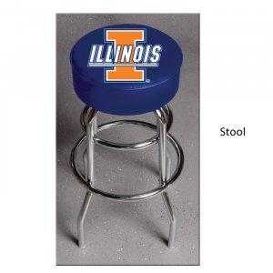 NCAA Illinois Fighting Illini Bar Stool