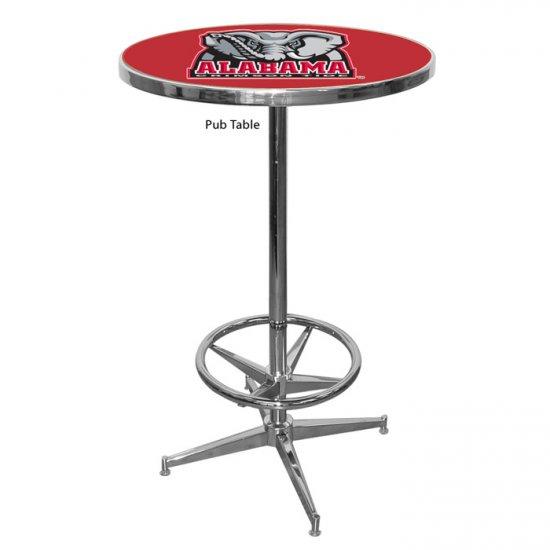 NCAA Alabama Crimson Tide Pub Table