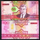 Turkmenistan banknote 2005 100 manat UNC