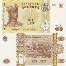 Moldova banknote 2005 1 leu UNC