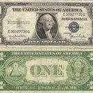 USA silver certificate 1935 1 dollar aVF-VF