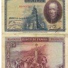 Spain banknote 1928 25 pesetas F-VF