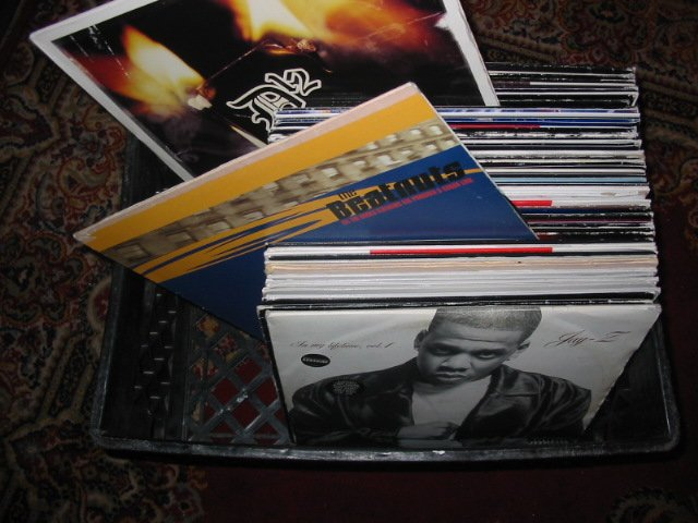 "CRATE OF 60 LP & 12"" Hip Hop R&B Great for DJ Lot#2"