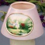 "Hometown Chapel"" Jar Candle Shade"