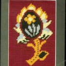 RARE CLASSICAL ART PINEAPPLE COUNTED NEEDLEPOINT TAPESTRY KIT