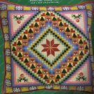 CHRISTMAS ROSE PATCHWORK NEEDLEPOINT SAMPLER PILLOW KIT