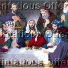INSPIRATIONAL BREAD WINE CREWEL EMBROIDERY KIT JESUS CHRIST TWELVE DISCIPLES