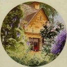 RARE 27 CT WISTERIA COTTAGE HERITAGE CROSS STITCH KIT JOHN CLAYTON