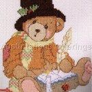 CHERISHED TEDDIES CROSS STITCH KIT CHRISTMAS CAROL BEAR CRACHIT TEDDY BEAR